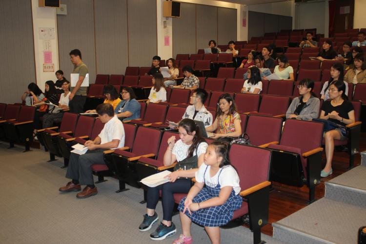 轉學生始業輔導活動照片