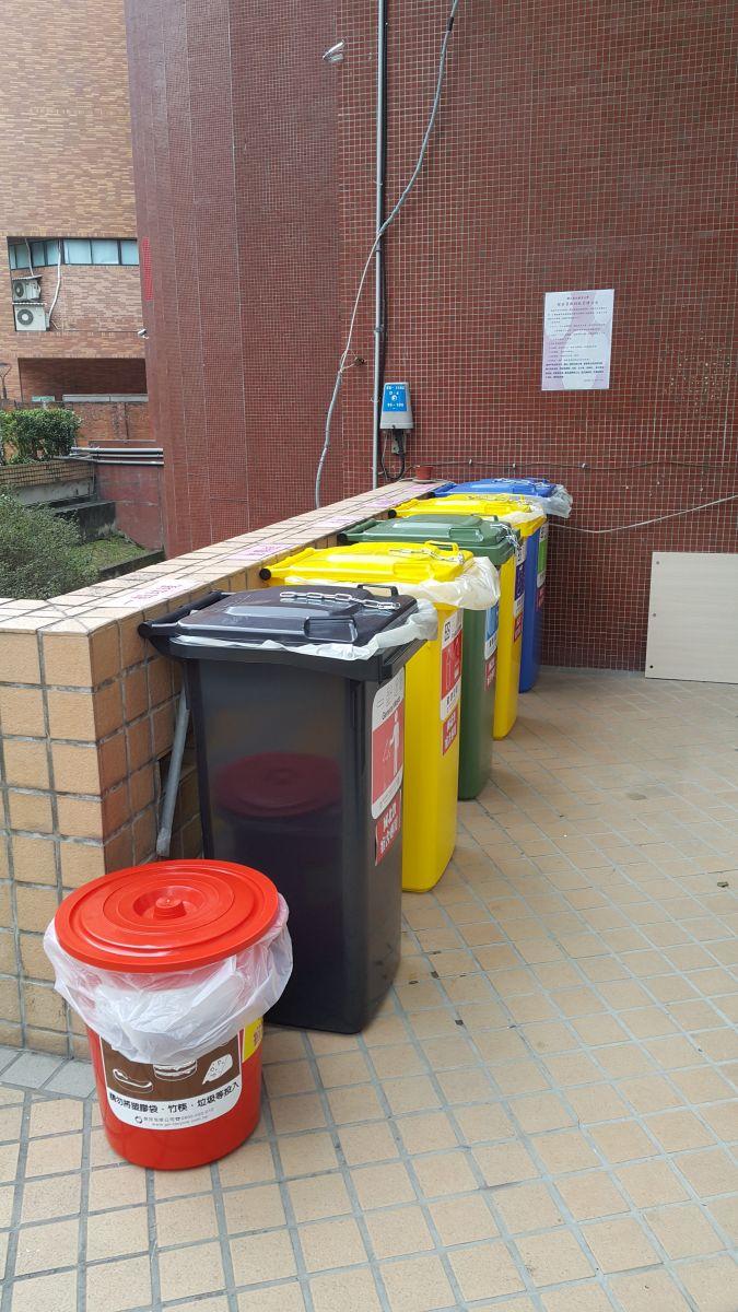 一宿資源回收桶